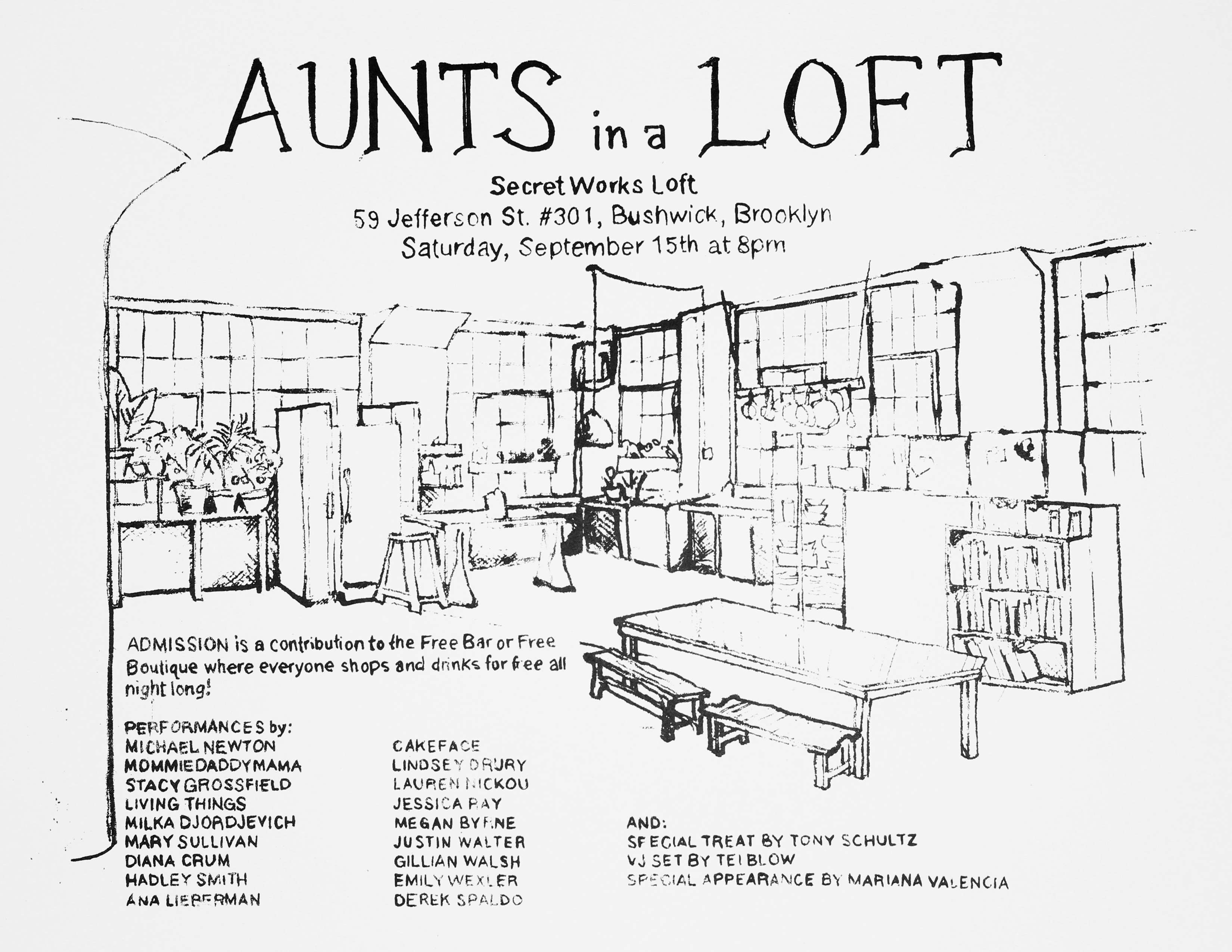 AUNTS in a Loft