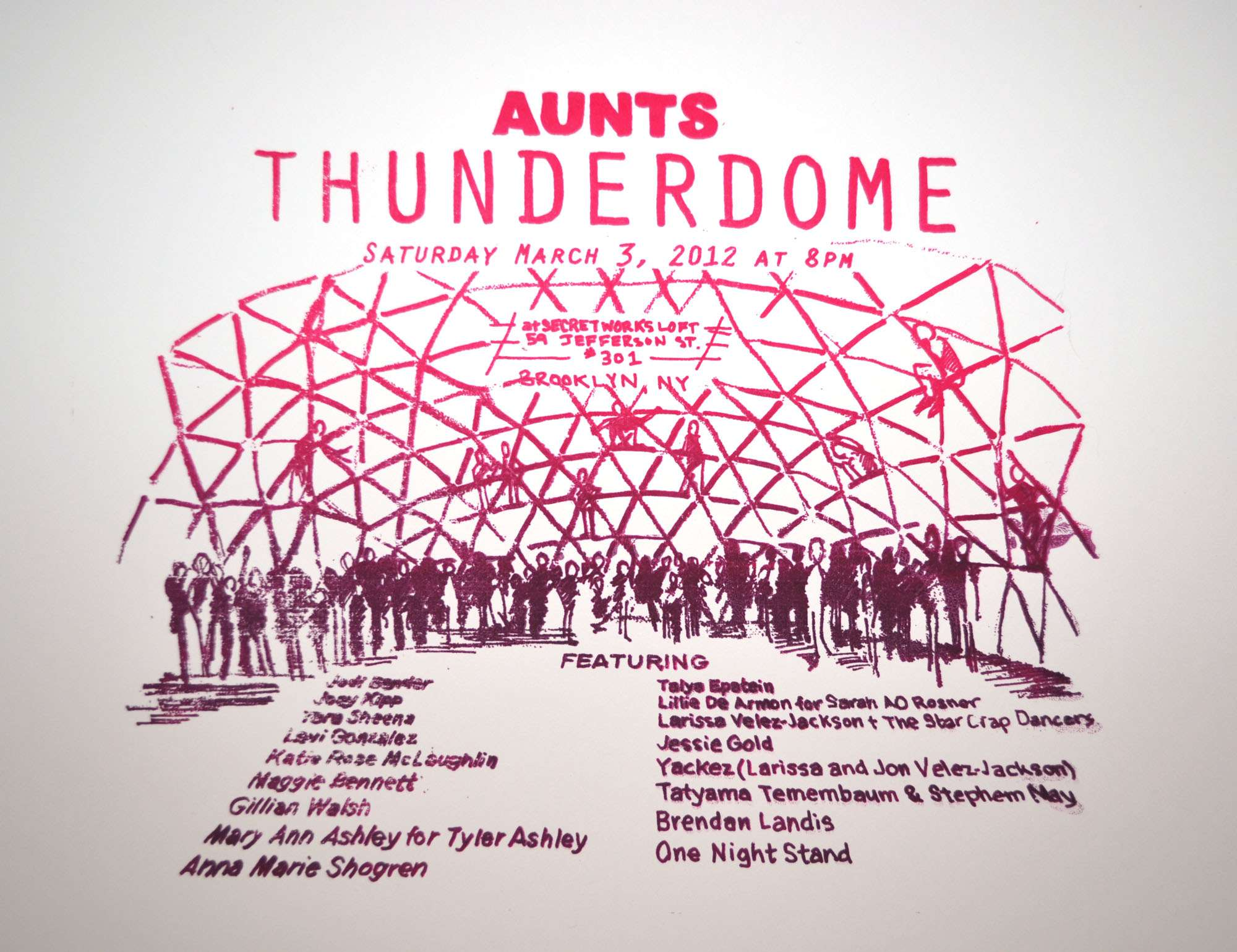 AUNTS thunderdome