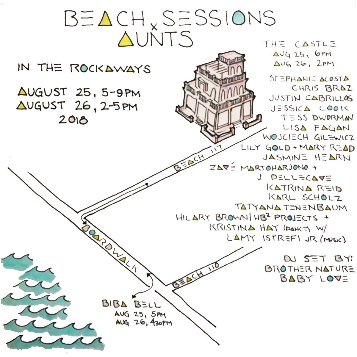 AUNTS/Beach Sessions @ Rockaway Beach